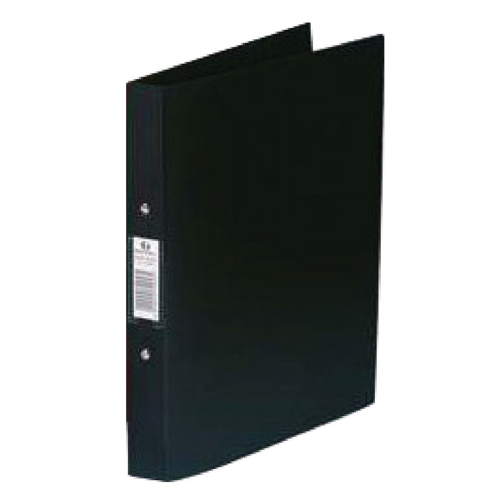 Rexel Budget A4 Black 2 O-Ring Binder, 25mm - Pack of 10 - 13422BK