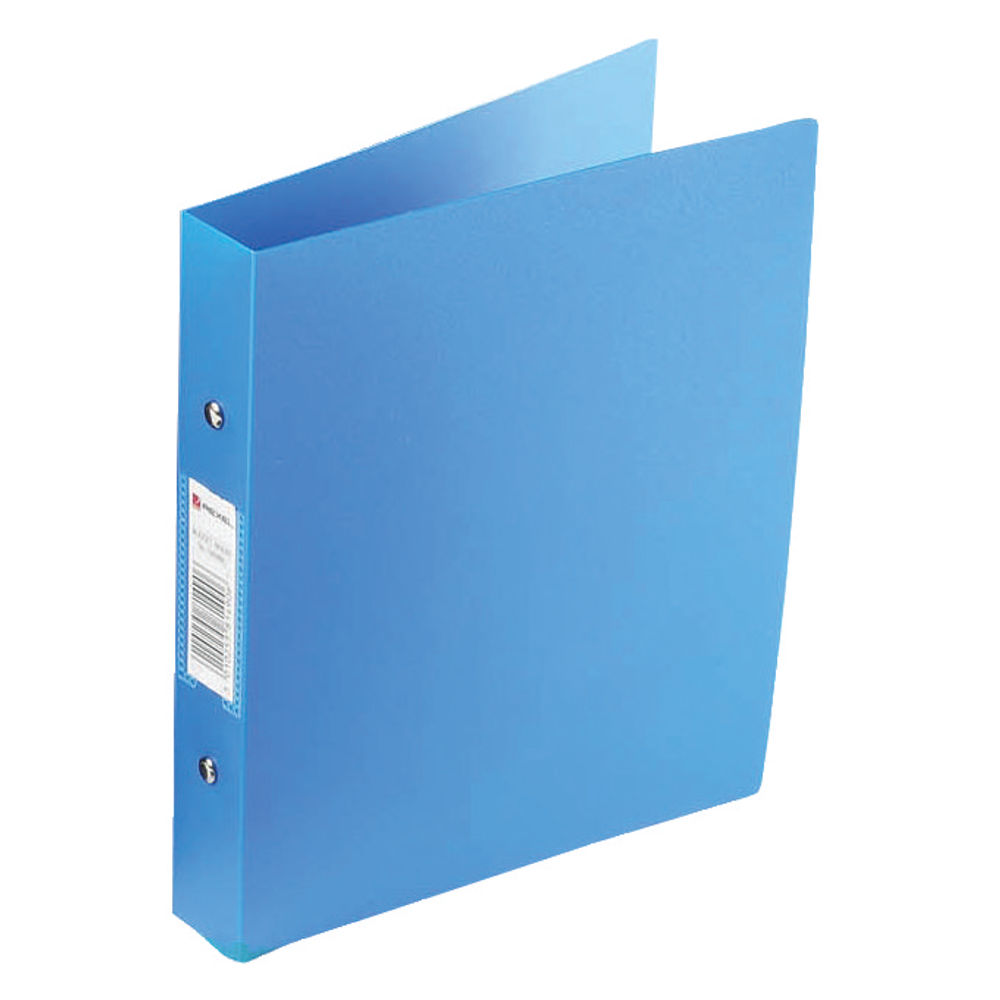 Rexel Budget A4 Blue 2 O-Ring Binder, 25mm - Pack of 10 - 13422BU