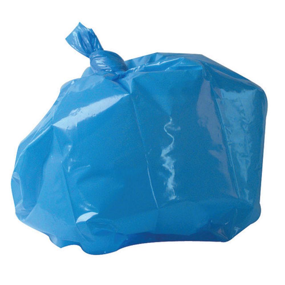 2Work Blue Medium Duty Refuse Sacks, Pack of 200 - RY15521