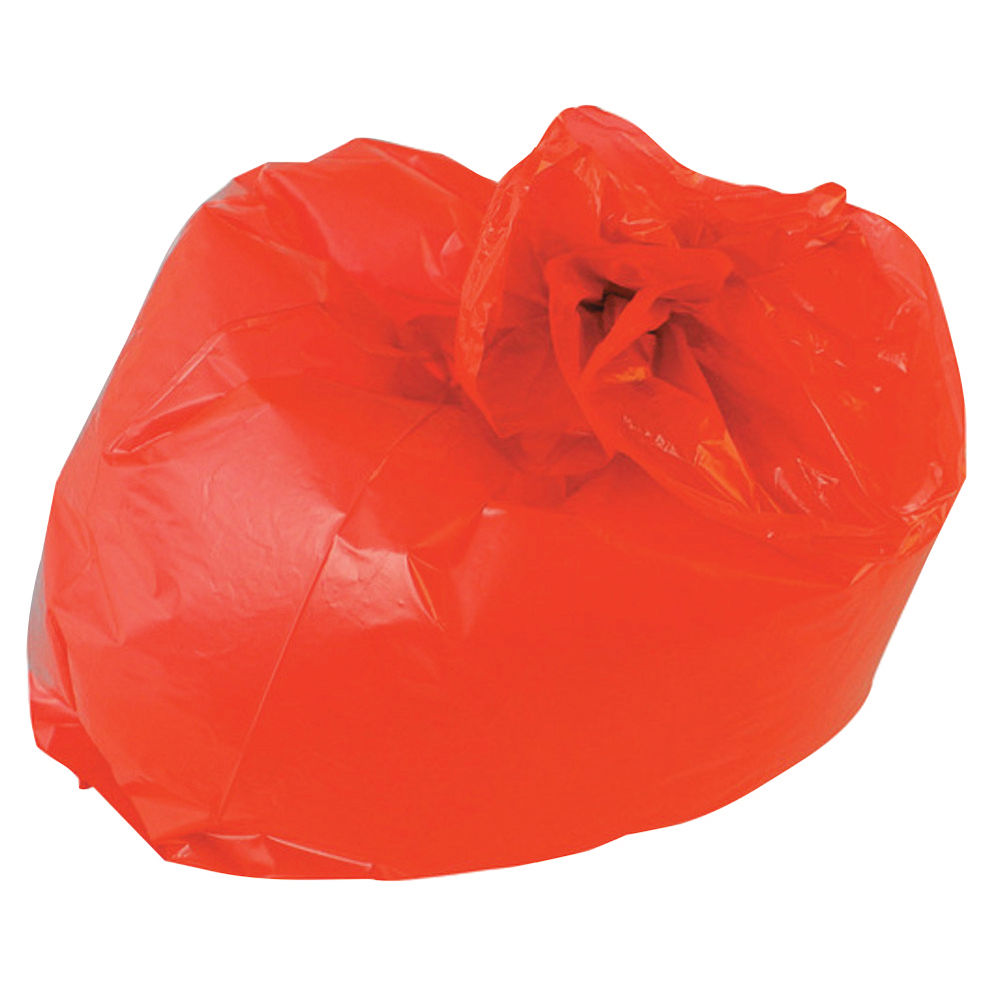 2Work Refuse Sacks 100g Red, Pack of 200 - RY15541