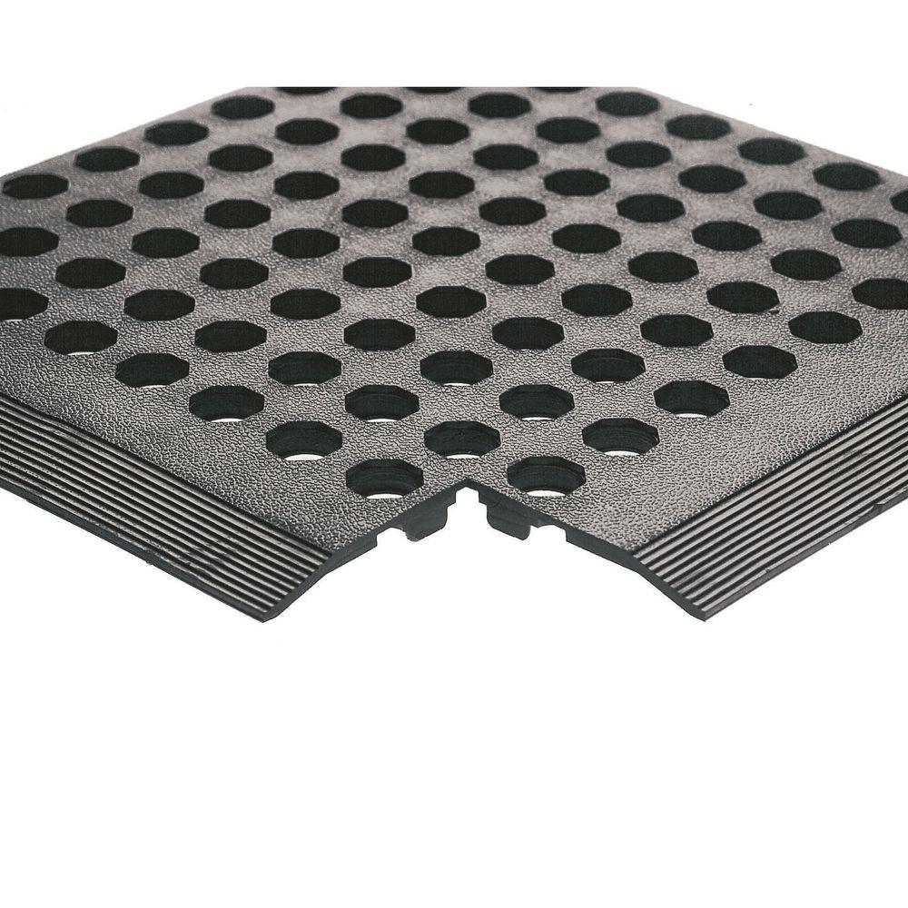 Worksafe 900 x 1500mm Black Rubber Mat (Pack of 3) – 312476