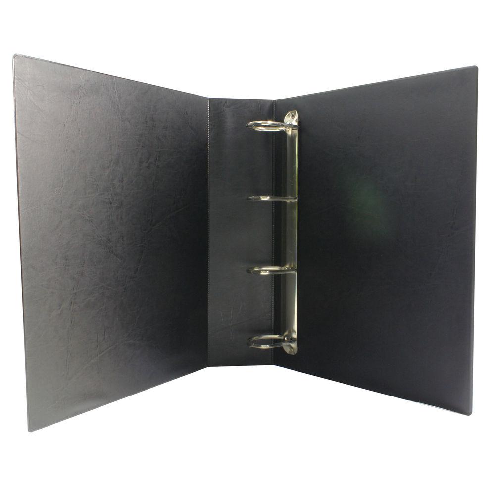 Black 50mm 4 D-Ring Presentation Binders, Pack Of 10
