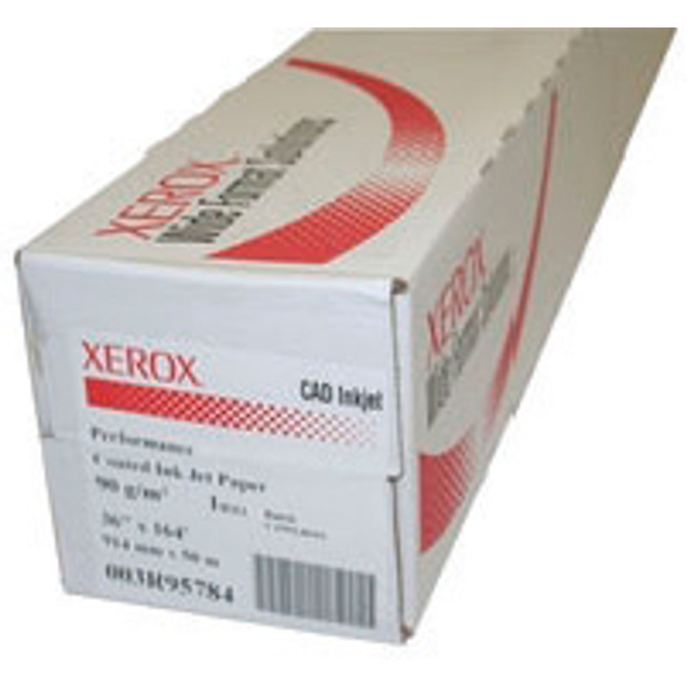 Xerox Performance White Coated Paper Roll 90gsm, 914mm x 50m - XR3R95784
