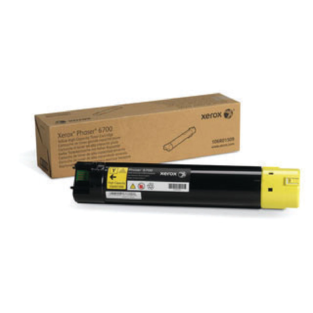 Xerox Phaser 6700 Yellow High Capacity Toner 106R01509