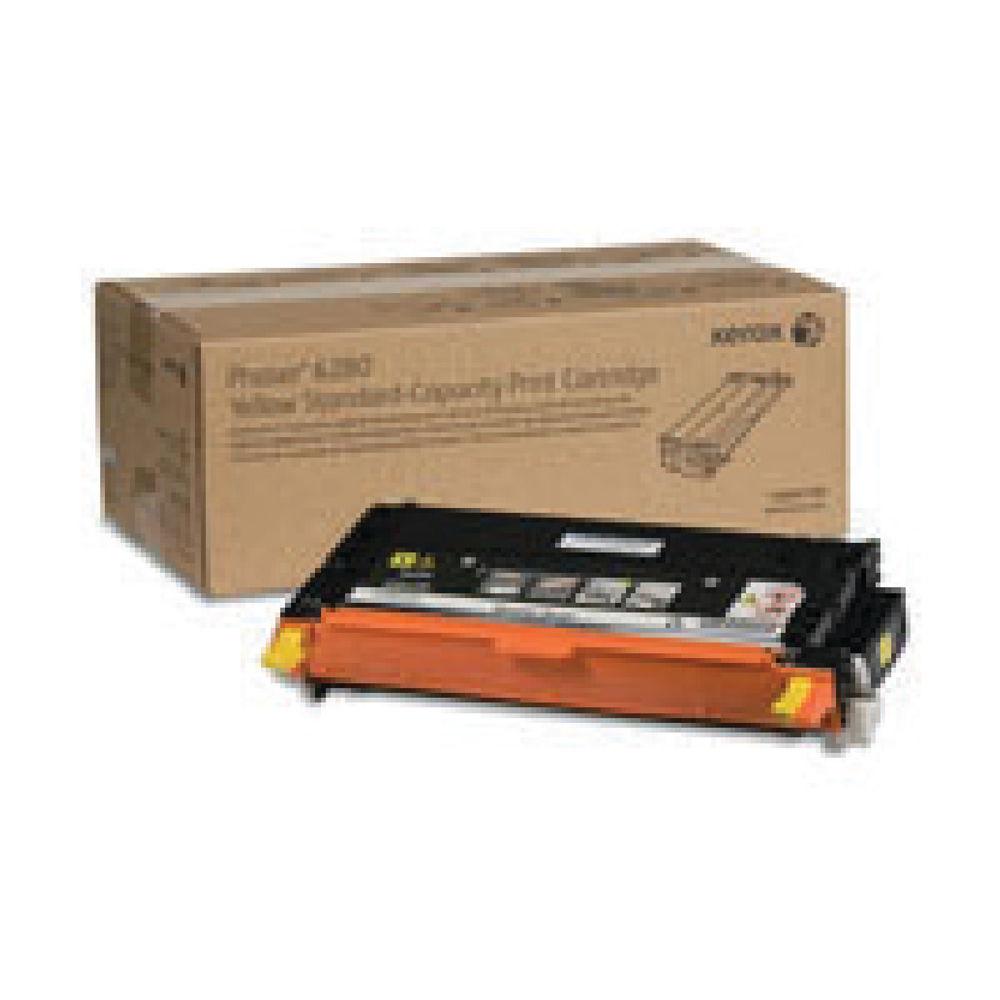 Xerox 6280 Yellow Toner Cartridge - 106R01390