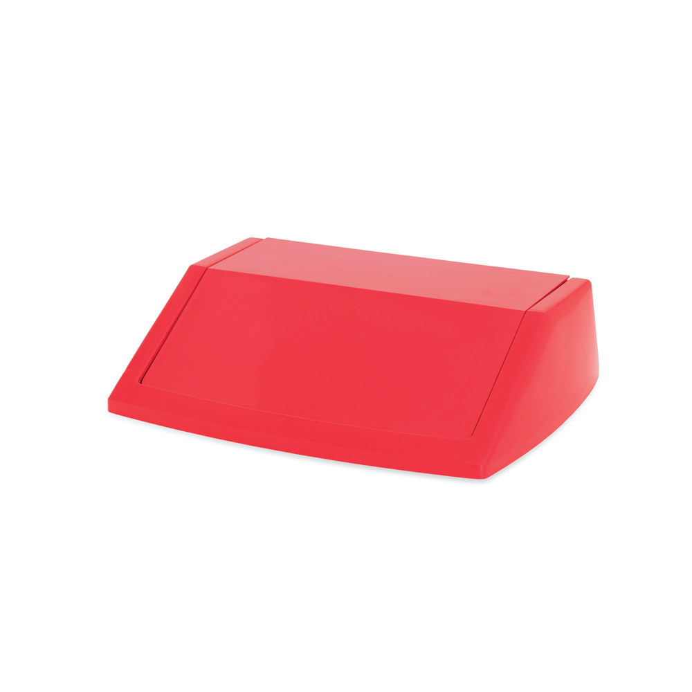 Addis Red 60 Litre Fliptop Bin Lid - 512568