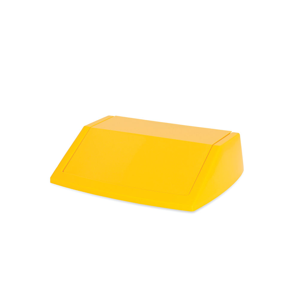 Addis Yellow 60 Litre Fliptop Bin Lid - 512861