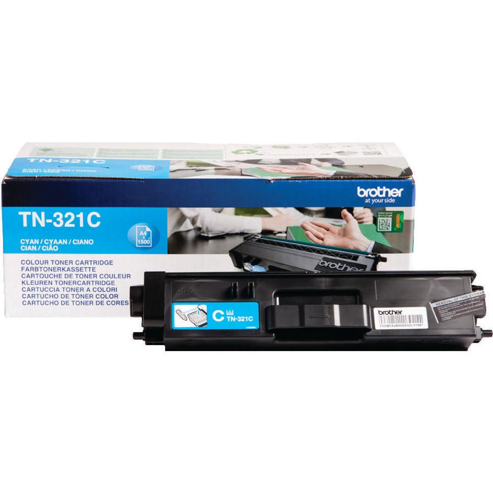 Brother TN321C Cyan Toner Cartridge - TN321C