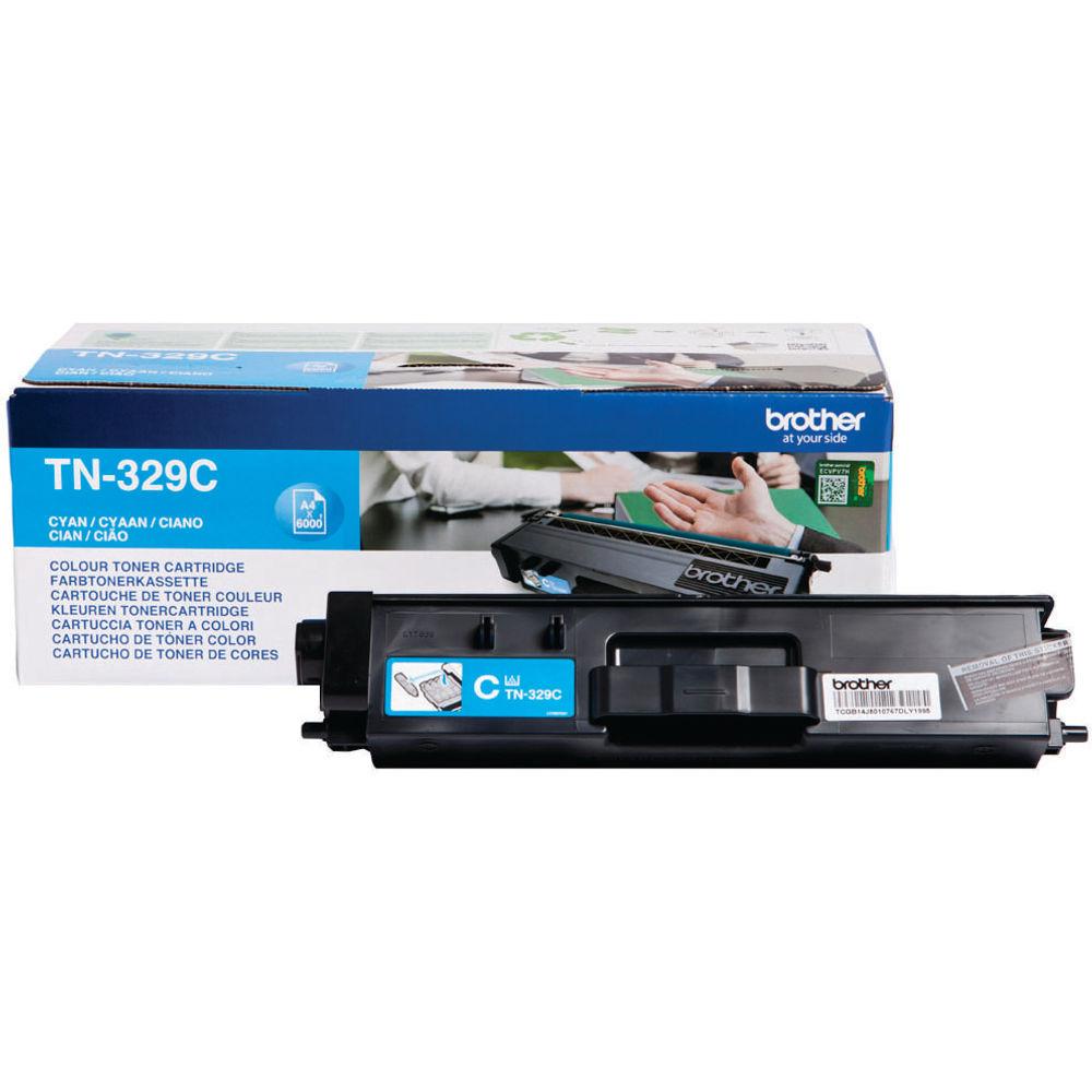 Brother TN329C Cyan Super Toner Cartridge High Capacity TN-329C