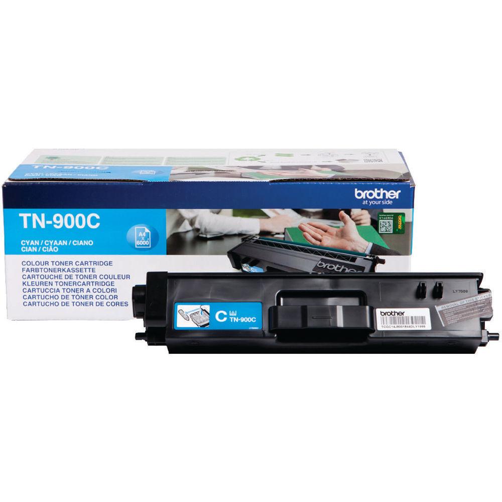 Brother TN900C Extra High Capacity Cyan Toner Cartridge - TN900C