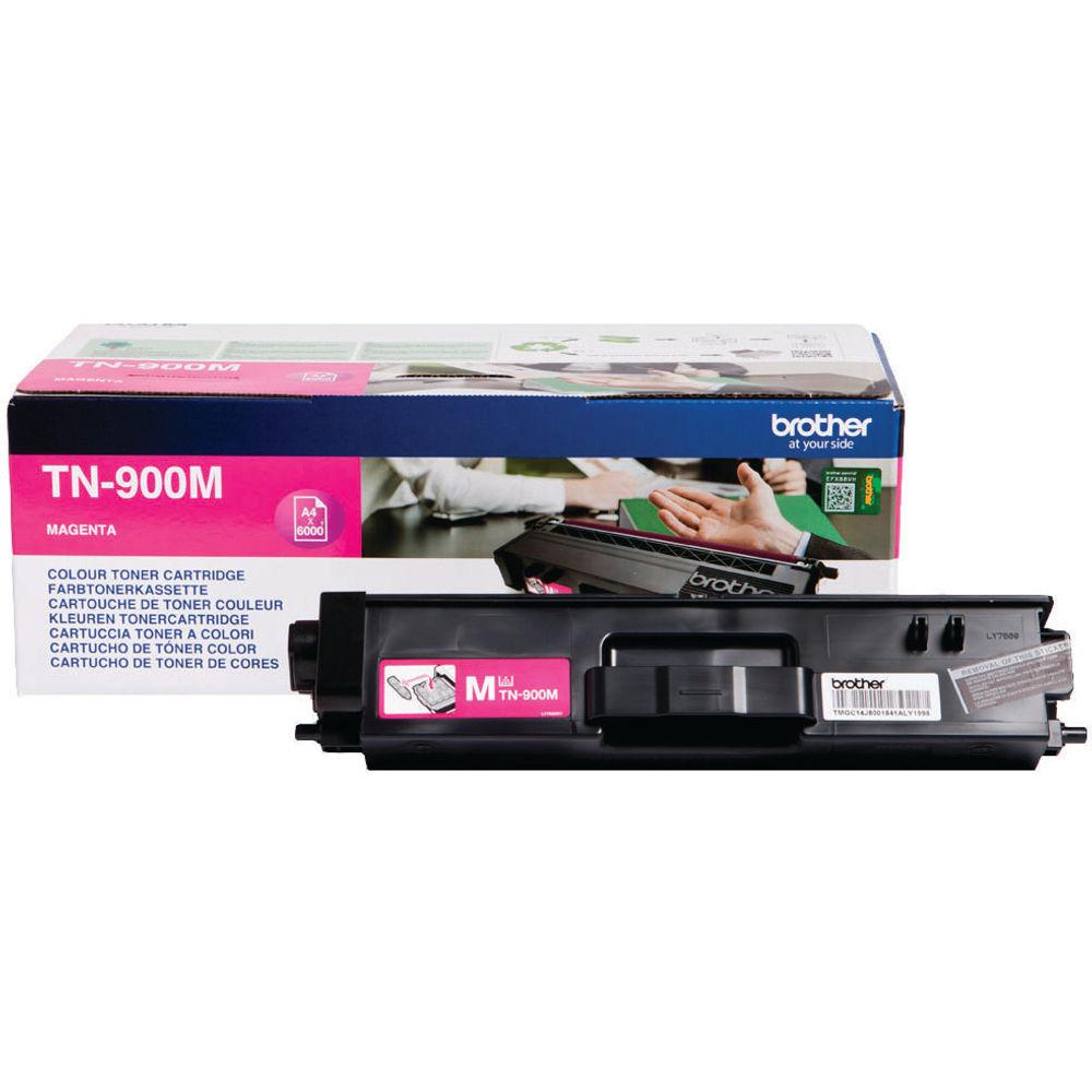 Brother TN-900 Magenta Super Toner Cartridge High Capacity TN900M