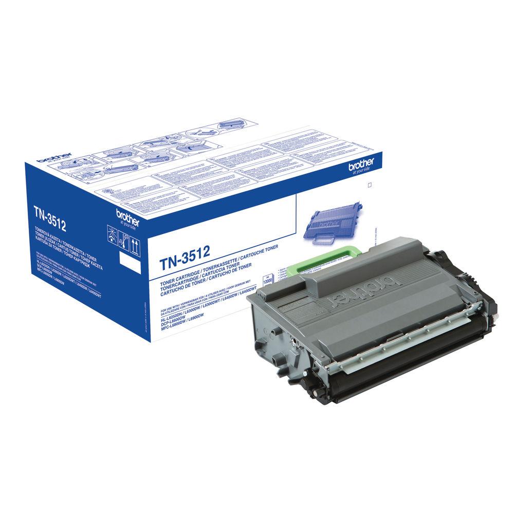 Brother TN3512 High Capacity Black Toner Cartridge - TN3512