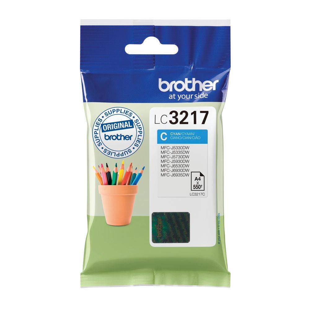 Brother LC3217C Cyan Ink Cartridge - LC3217C