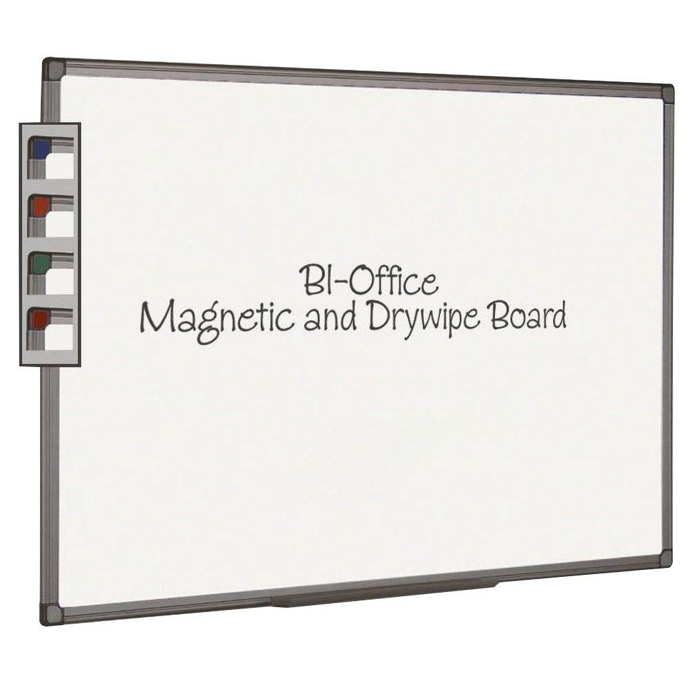 Bi-Office Aluminium Finish Magnetic Board 2400x1200mm MB8606186