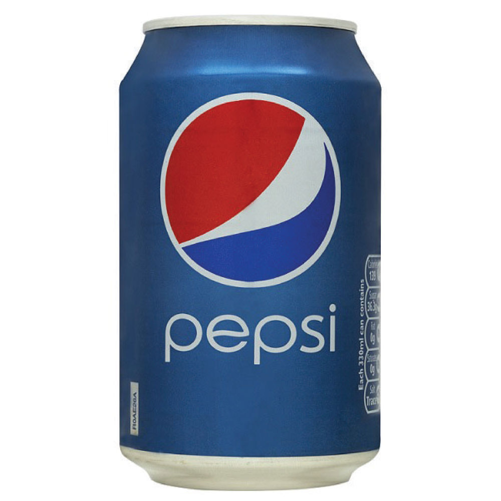 Pepsi 330ml Cans, Pack of 24 - 0402007