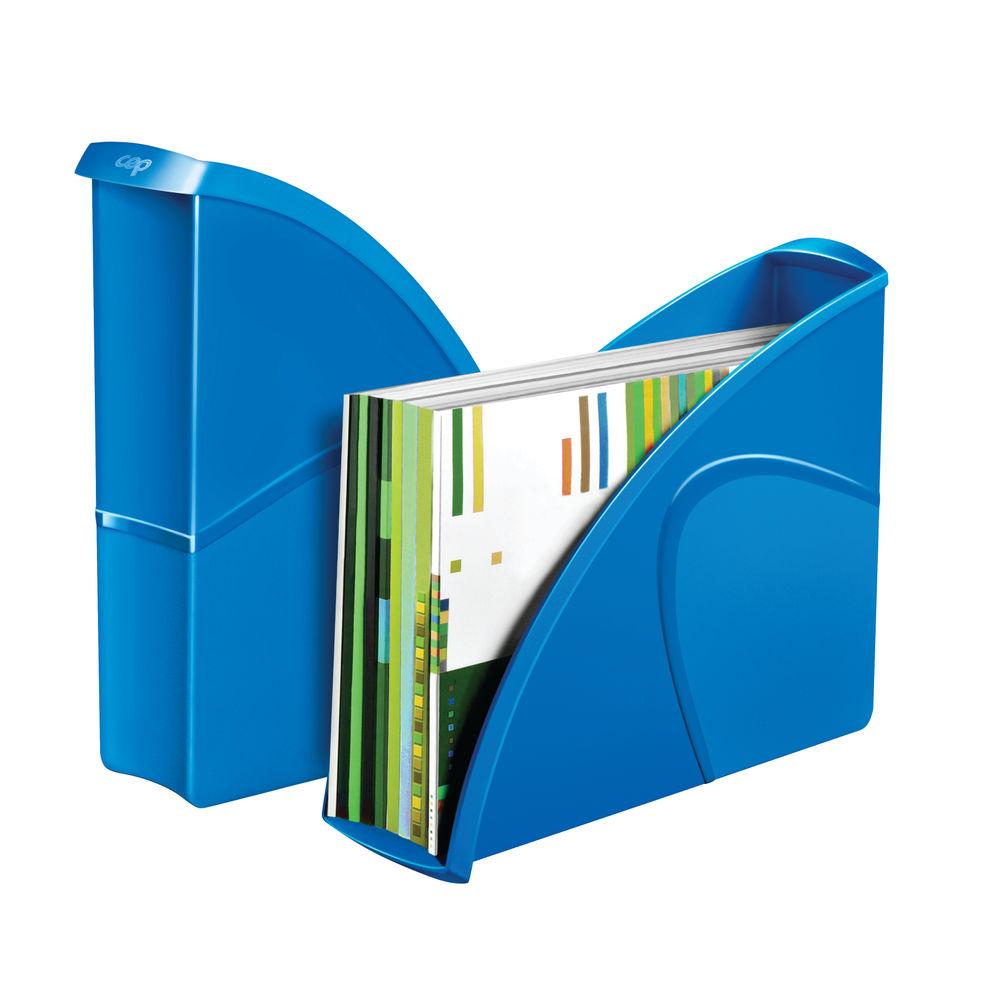 CepPro Gloss Blue Magazine Rack - 674G BLUE