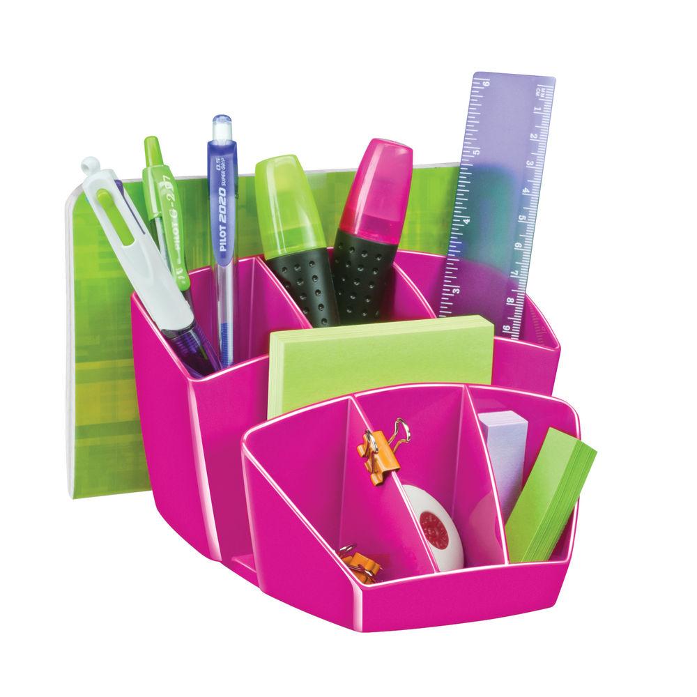 CEP Pro Gloss Pink Desk Tidy 580GPINK