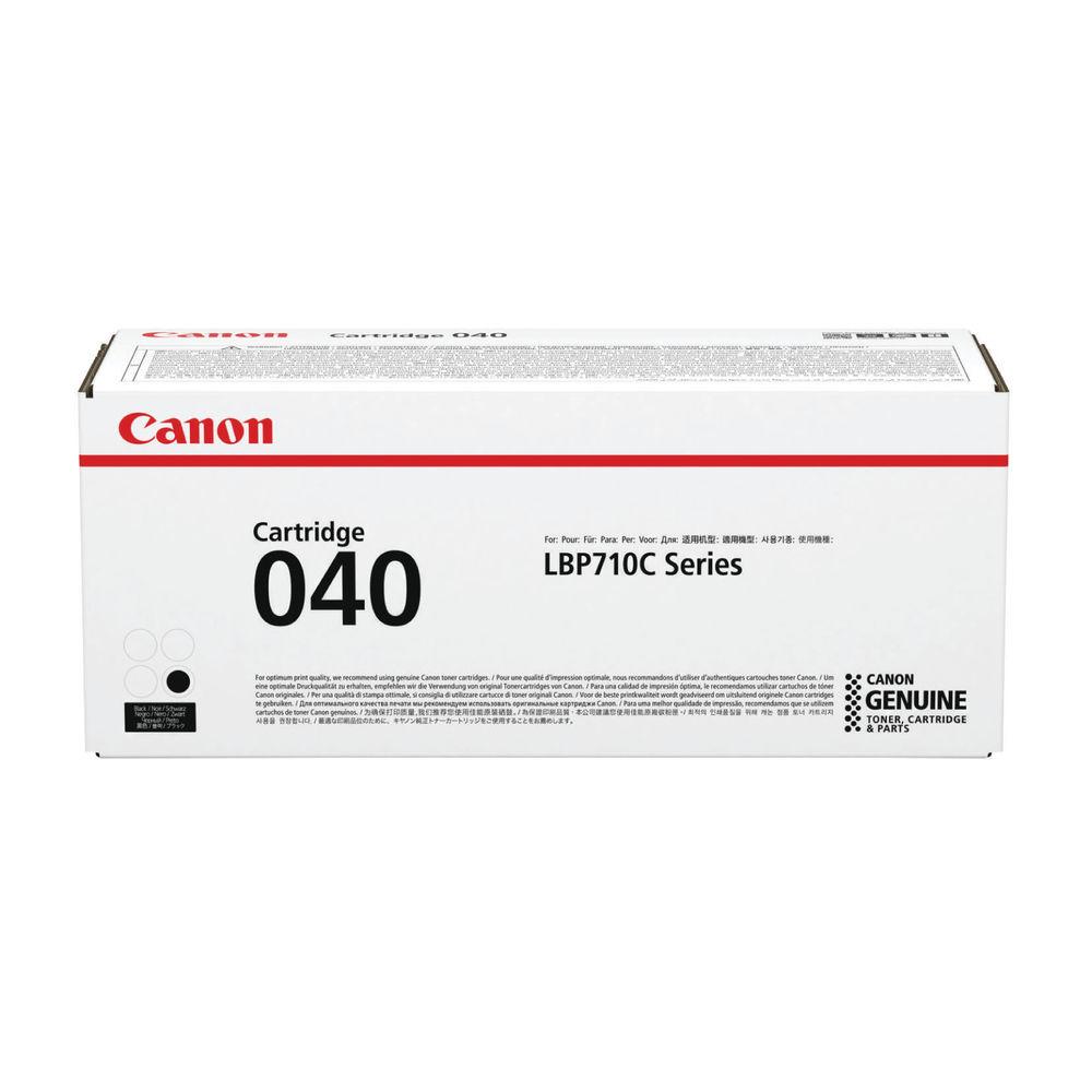 Canon 040 Black Toner Cartridge 0460C001