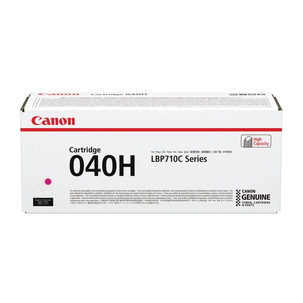Canon 040H Magenta High Capacity Toner Cartridge 0457C001