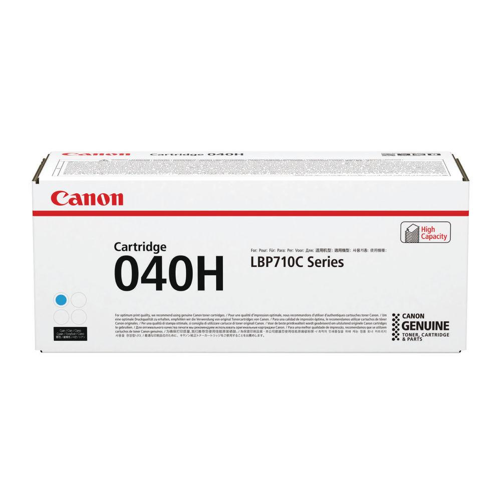 Canon 040H High Capacity Cyan Toner Cartridge - 040 H C