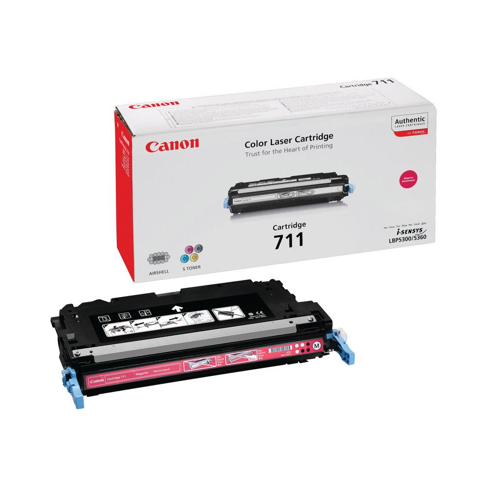 Canon 711 Magenta Toner Cartridge - 711 M