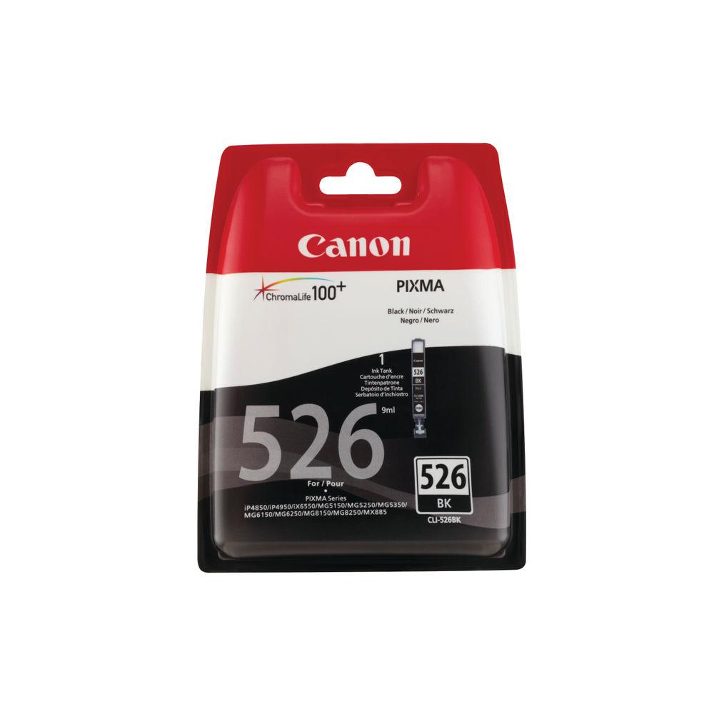 Canon CLI-526 Black Ink Cartridge - 4540B006