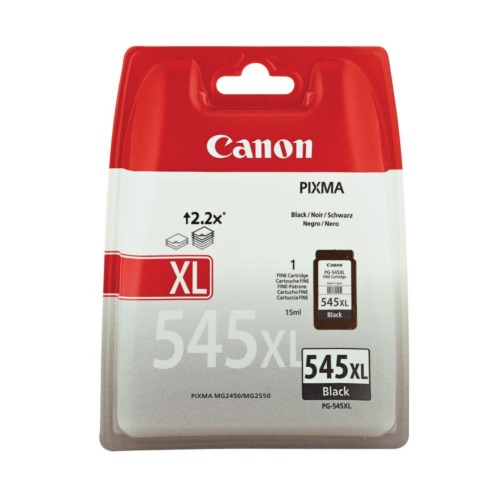 Canon PG-545XL Black Ink Cartridge - High Capacity 8286B001
