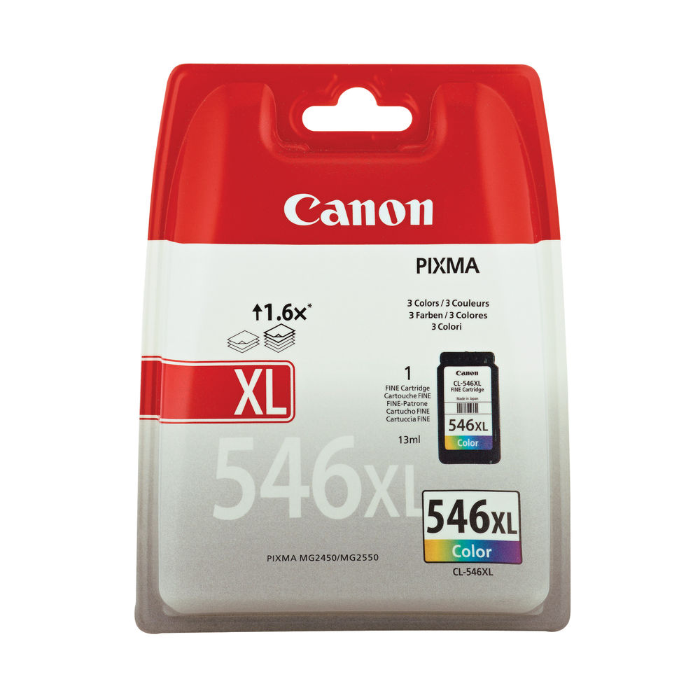 Canon CL-546XL Colour High Yield  Ink Cartridge - 8288B001