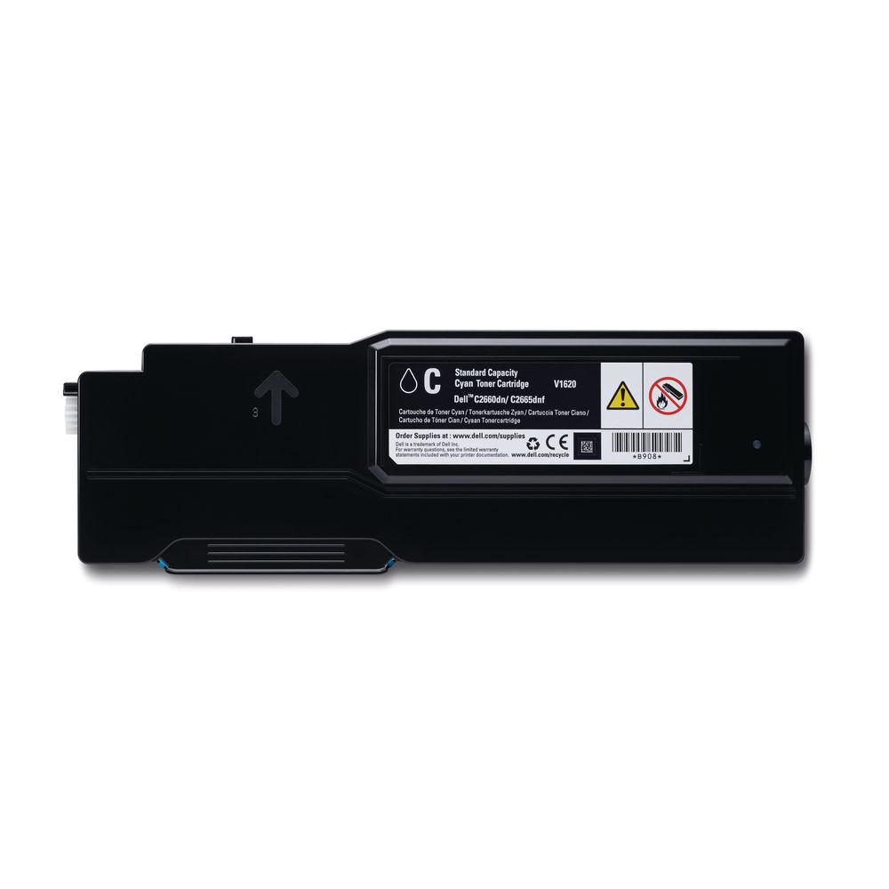 Dell 593-BBBN Cyan Toner Cartridge - 593-BBBN