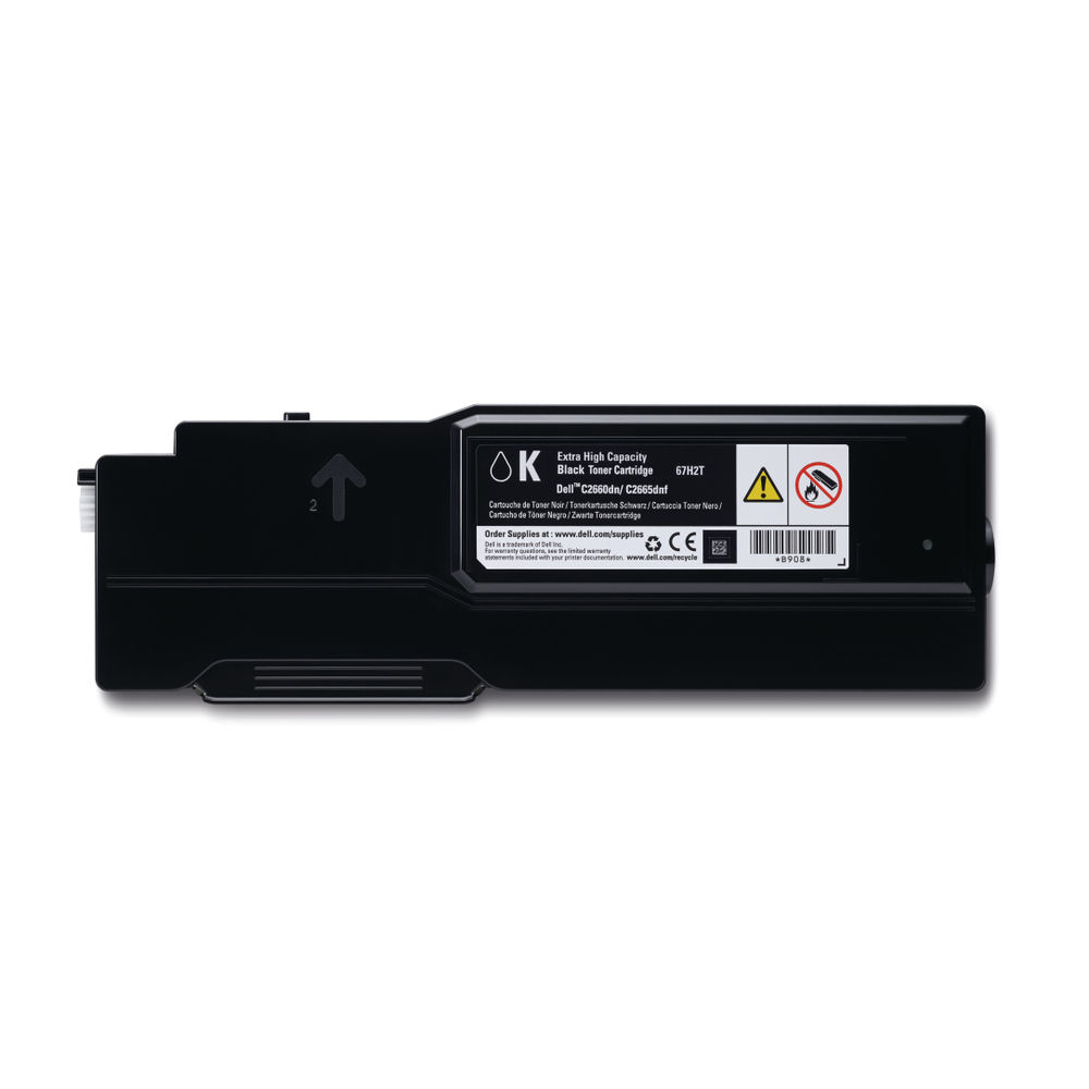 Dell Black Extra Toner Cartridge High Capacity 593-BBBU