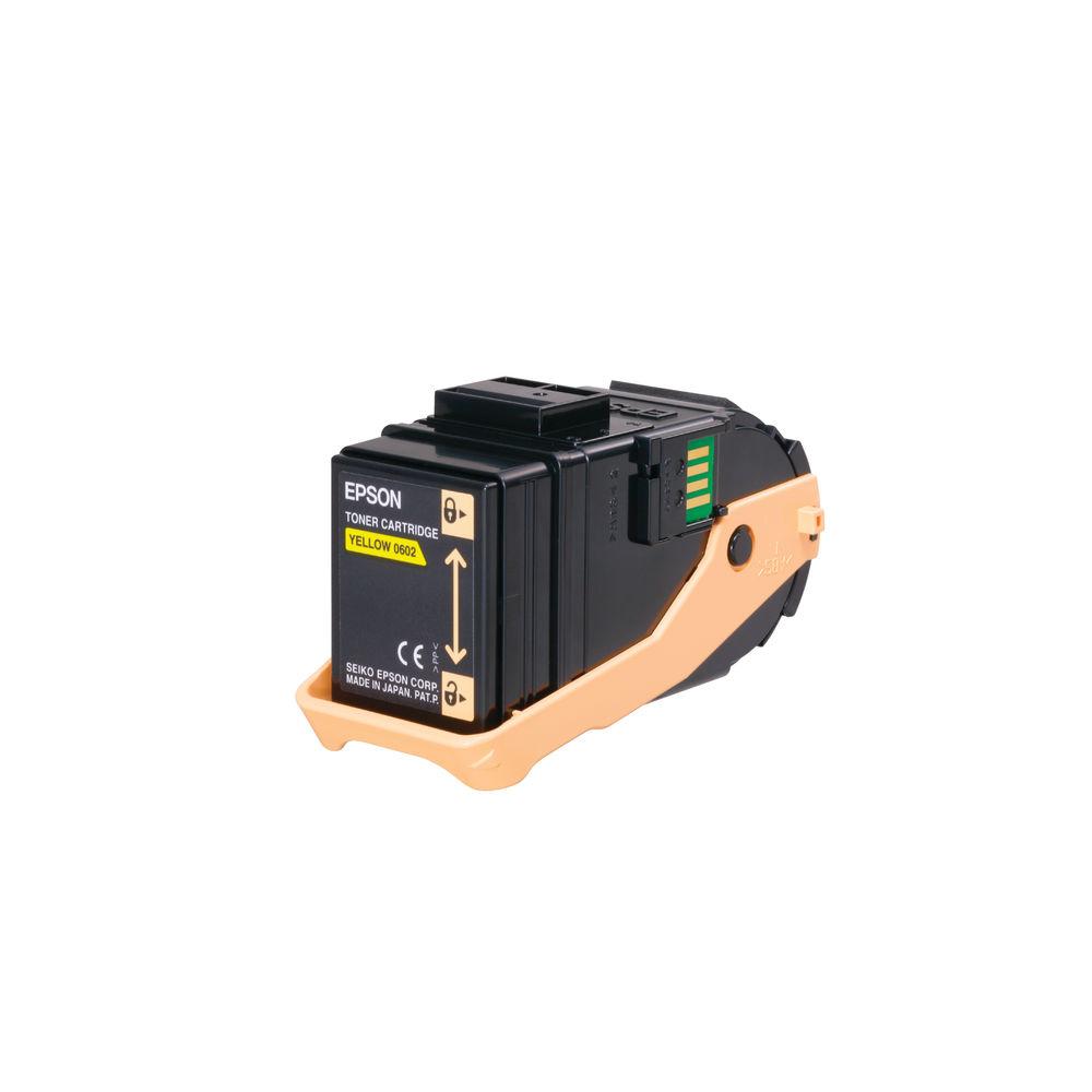 Epson S050602 Yellow Toner Cartridge C13S050602