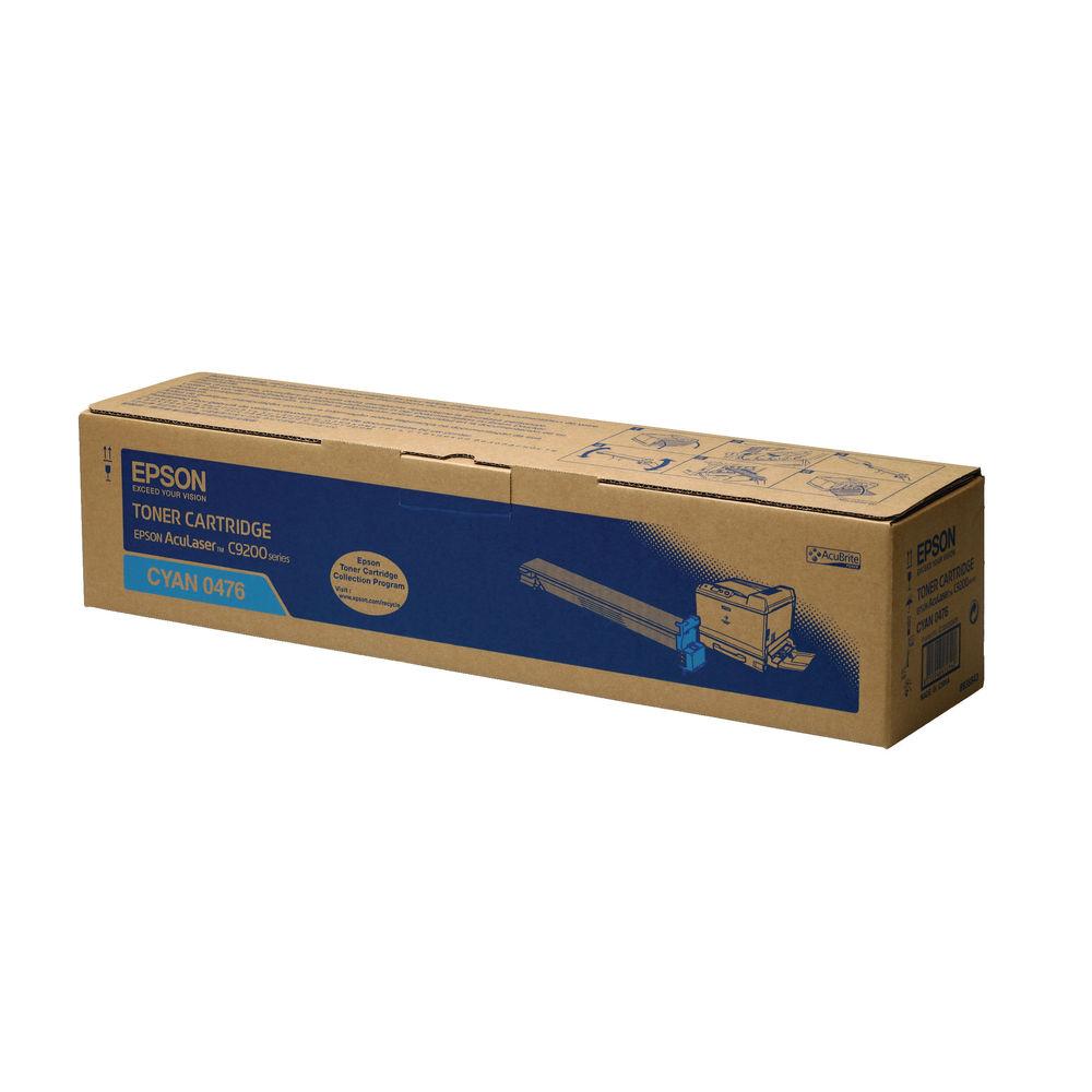 Epson C9200N Cyan Toner Cartridge - C13S050476