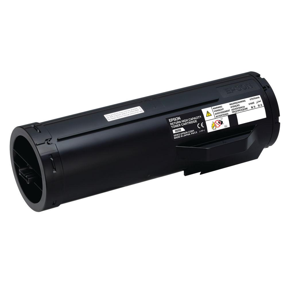 Epson S050699 Black Toner Cartridge Return High Yield C13S050699