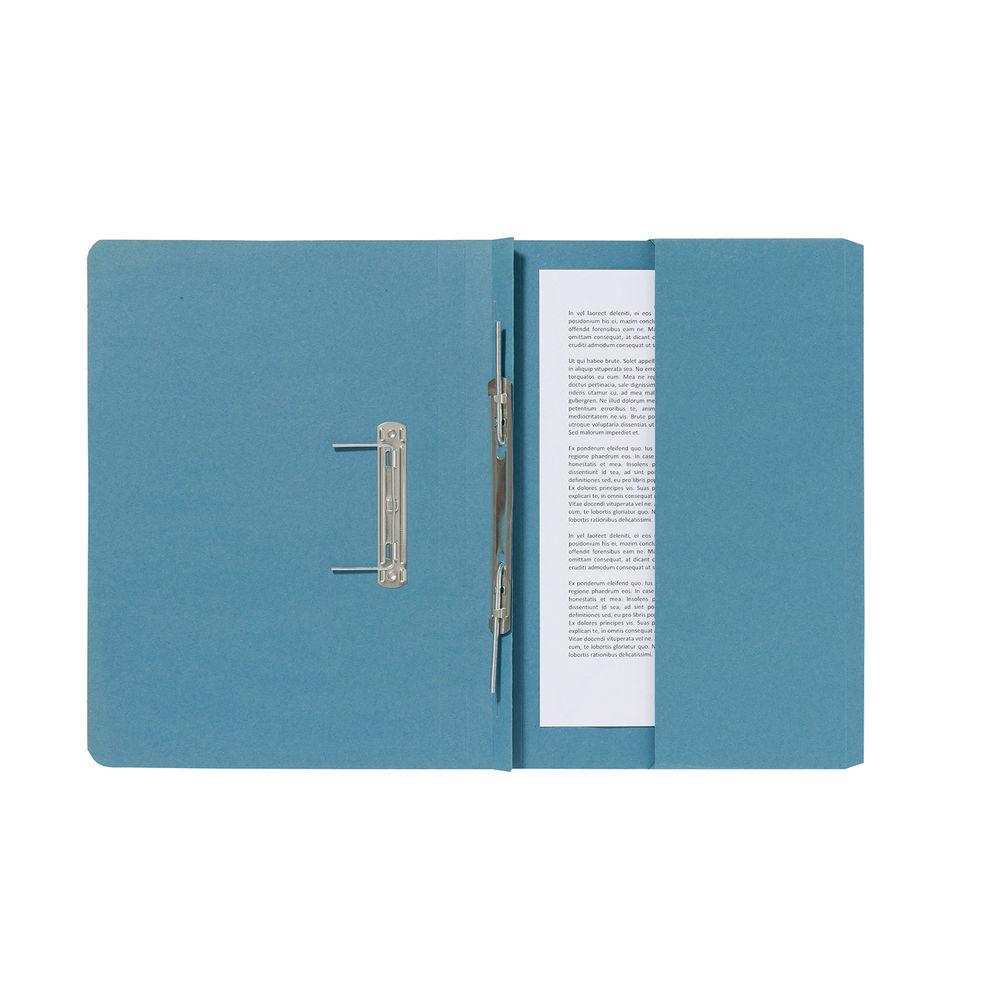 Guildhall Blue Pocket Spiral Files 285gsm (Pack of 25) - 347-BLUZ