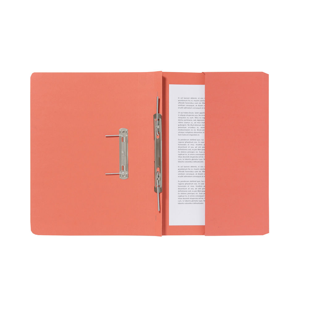 Guildhall Orange Pocket Spiral File (Pack of 25) - 347-ORGZ
