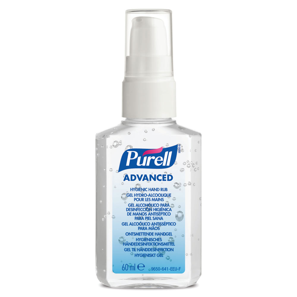 Purell Advanced Hygienic Hand Rub 60ml Personal Use Spray (Pk 24)  9606-24-EEU00