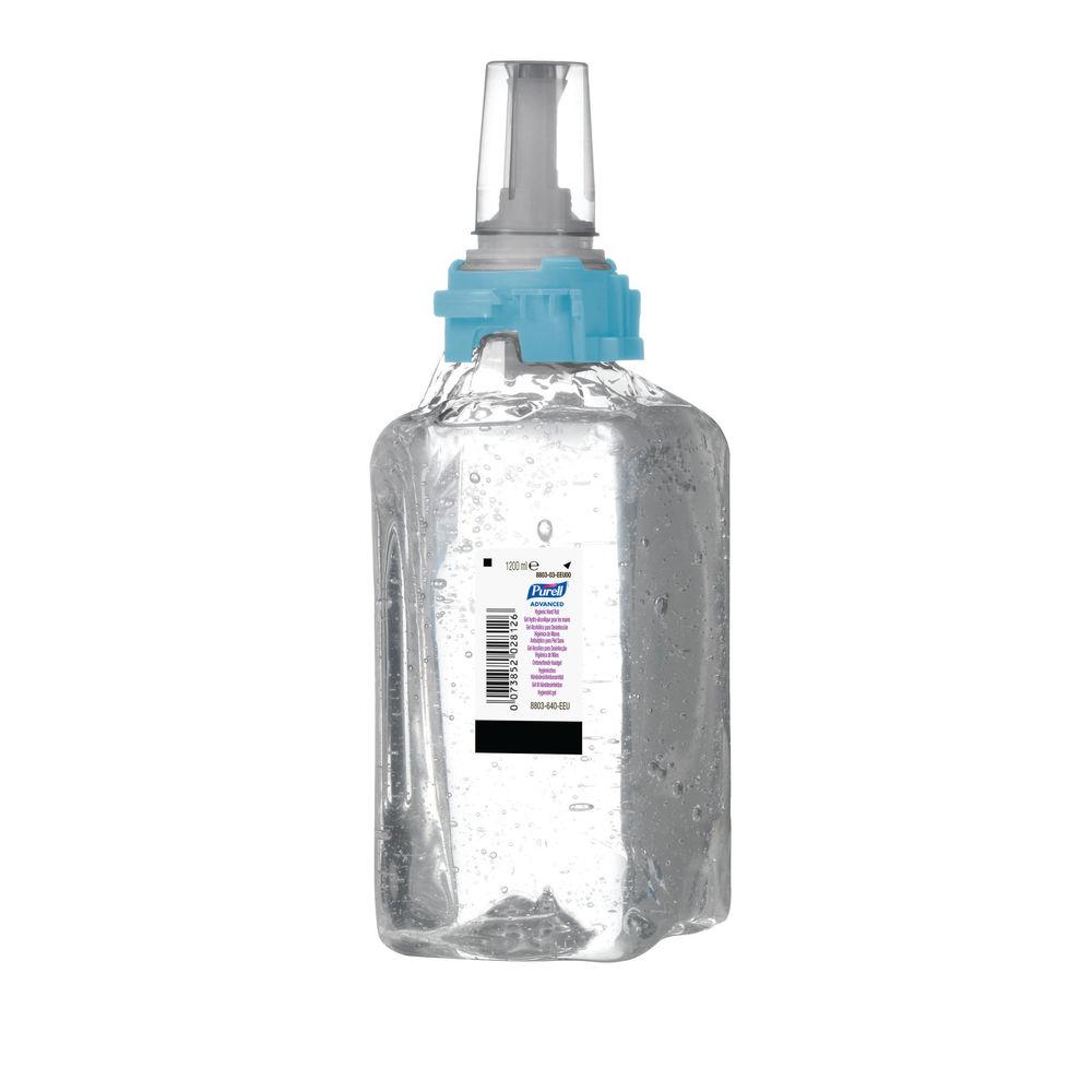 Purell 1200ml ADX-12 Hygienic Hand Rub, Pack of 3 - 8803-03-EEU00