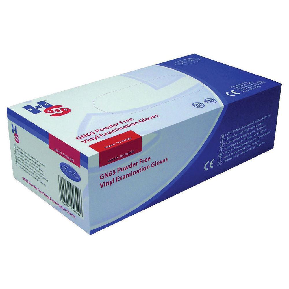 Handsafe Powder-Free Vinyl Gloves Large Clear (Pack of 1000) HEA00315