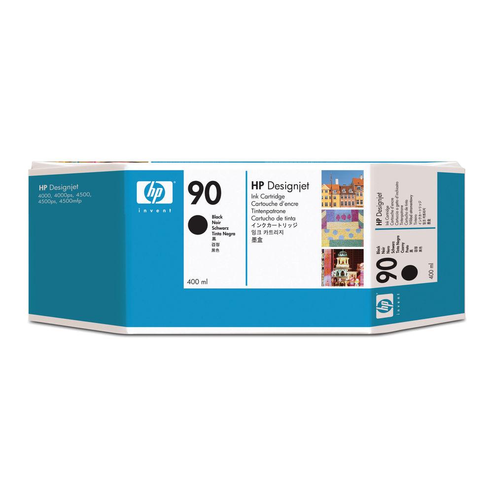 HP 90 High Capacity Black Ink Cartridge - C5058A