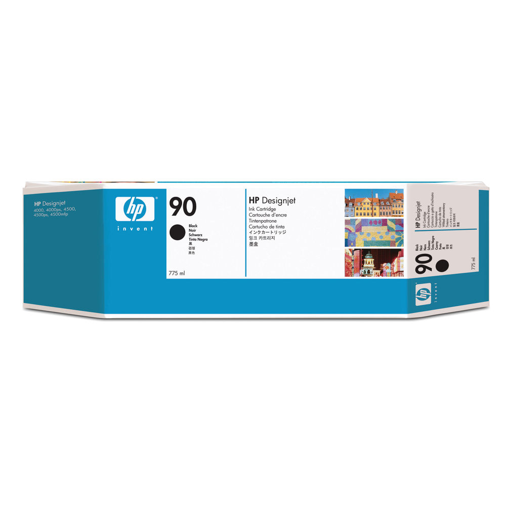 HP 90 High Yield Black Inkjet Cartridge C5059A