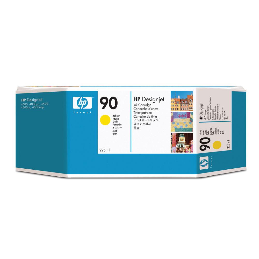HP 90 Yellow Ink Cartridge - C5064A