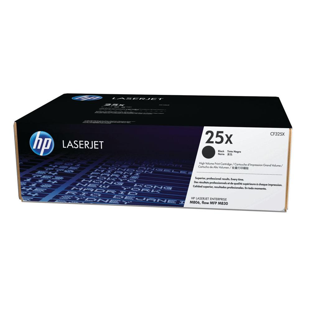 HP 25X Black High Yield Laserjet Toner Cartridge CF325X