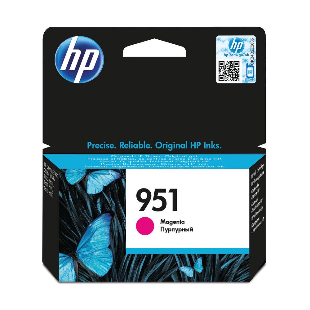 HP 951 Magenta Ink Cartridge | CN051AE