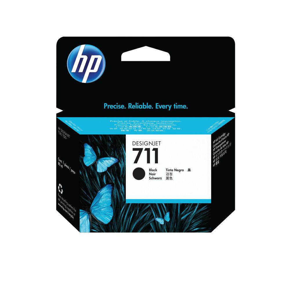 HP 711 Black Ink Cartridge - CZ133A