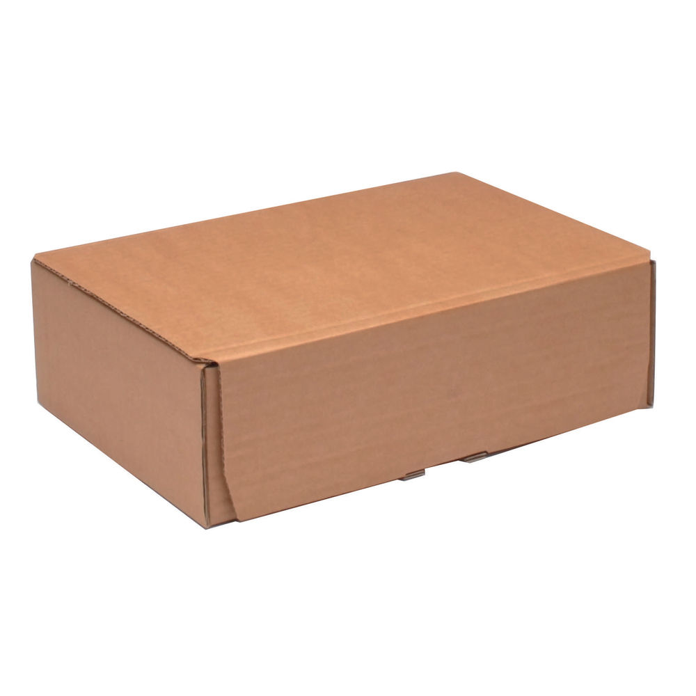 250 x 175mm Brown Mailing Boxes, Pack of 20 - 43383250