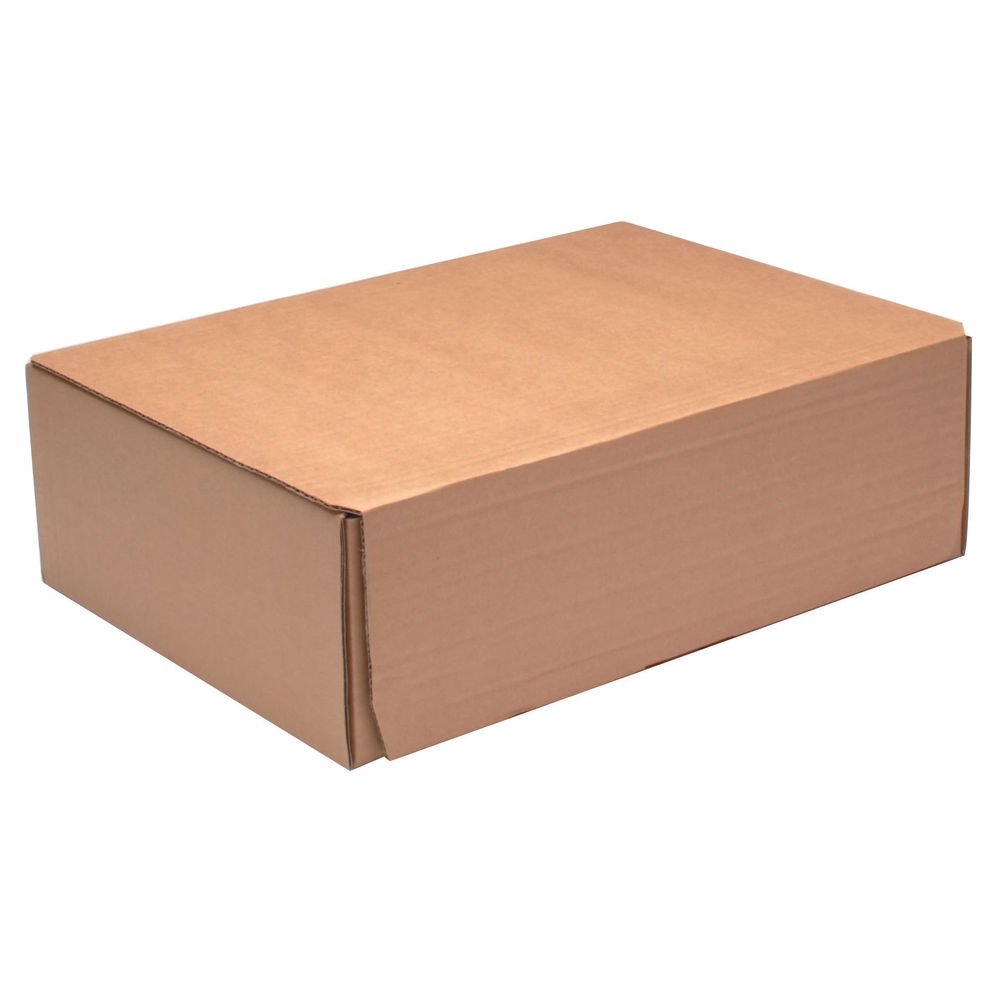 325 x 240mm Brown Mailing Boxes, Pack of 20 - 43383251