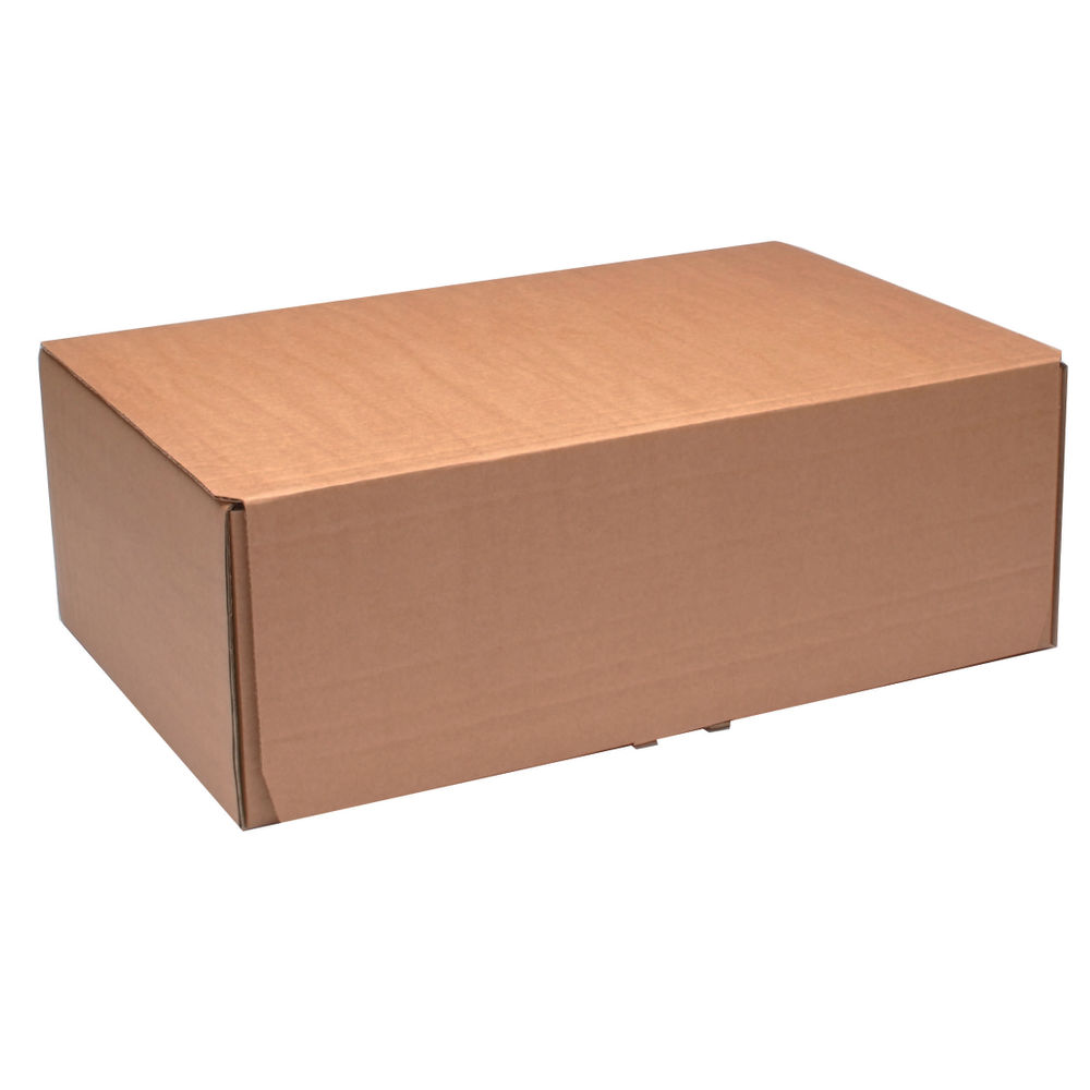 395 x 255mm Brown Mailing Boxes, Pack of 20 - 43383252