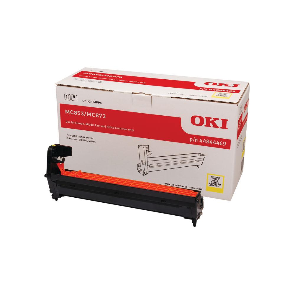 Oki MC853 MC873 30000 Pages Yellow Drum (Capacity: 30,000) 44844469