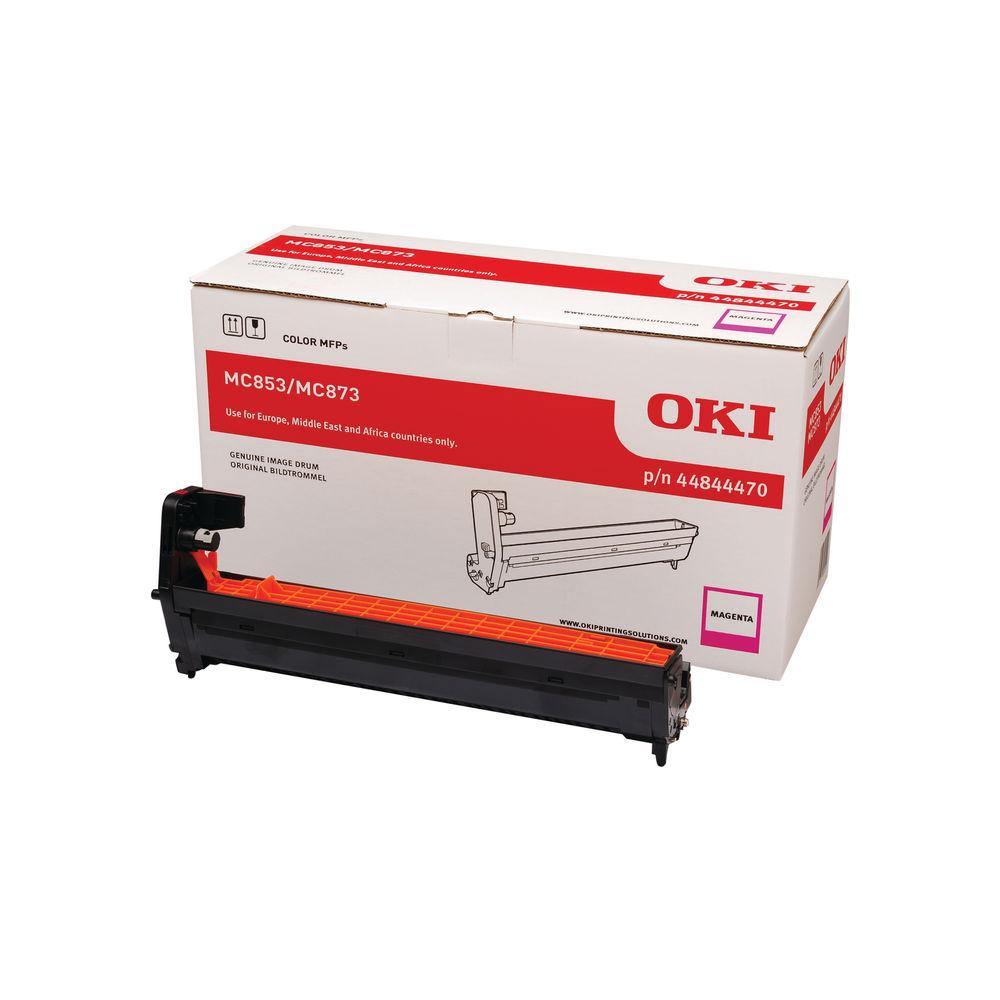 Oki MC853 MC873 30000 Pages Magenta Drum (30,000 page capacity) 44844470