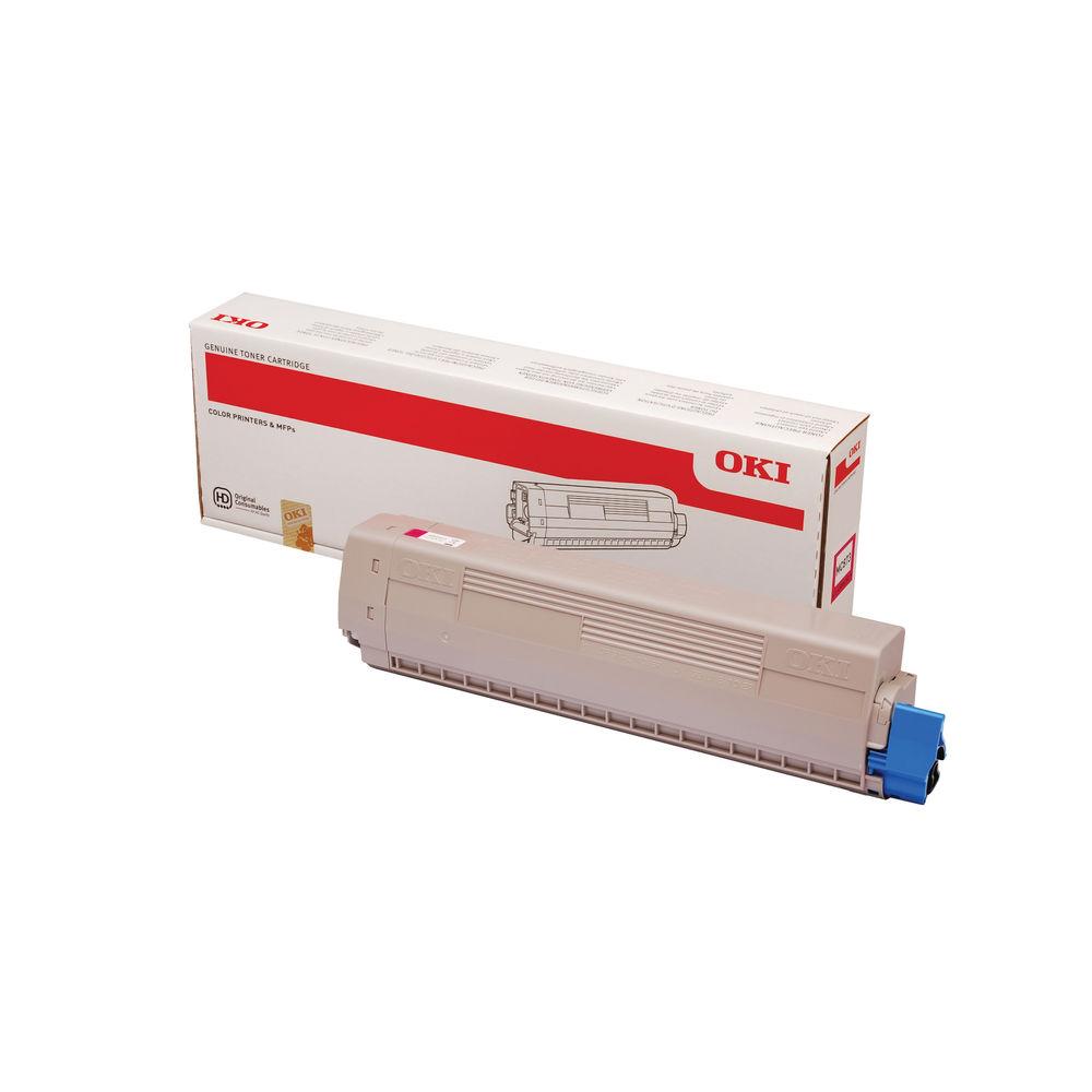 Oki Magenta Toner Cartridge - High Capacity 45862815